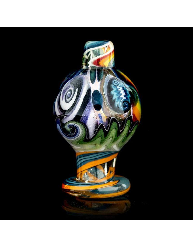 Dillinger Glass Bubble Carb Cap | Dillinger Choas UV #4