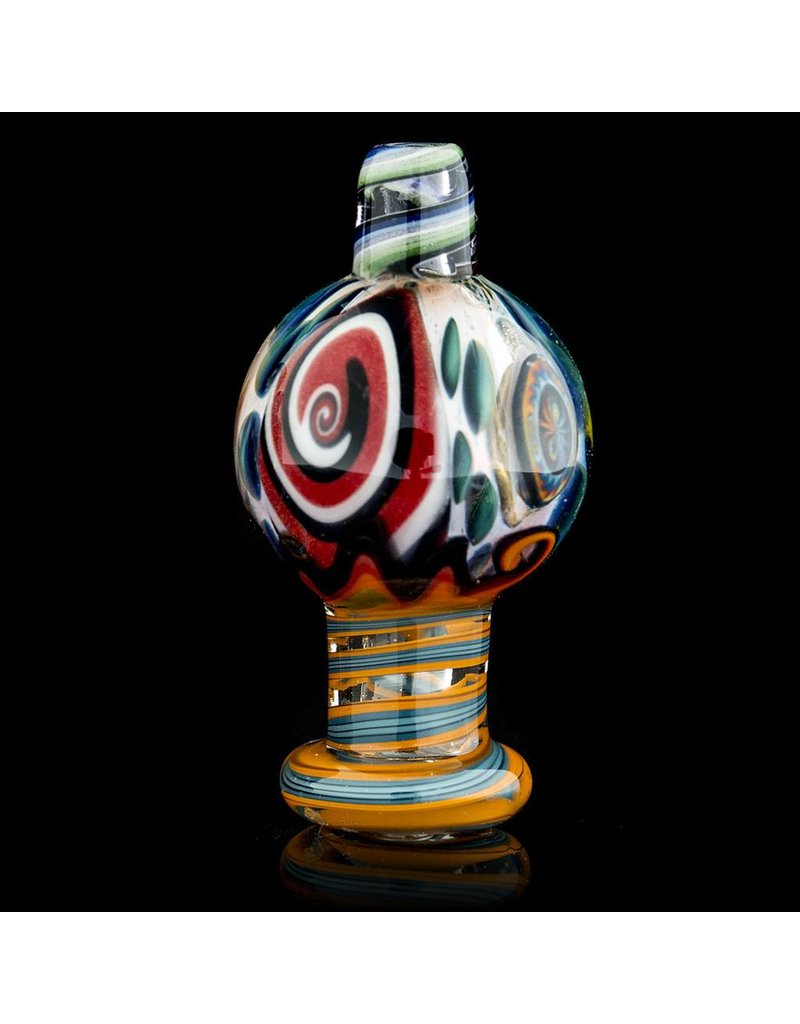 Dillinger Glass Bubble Carb Cap   Dillinger Choas UV #2