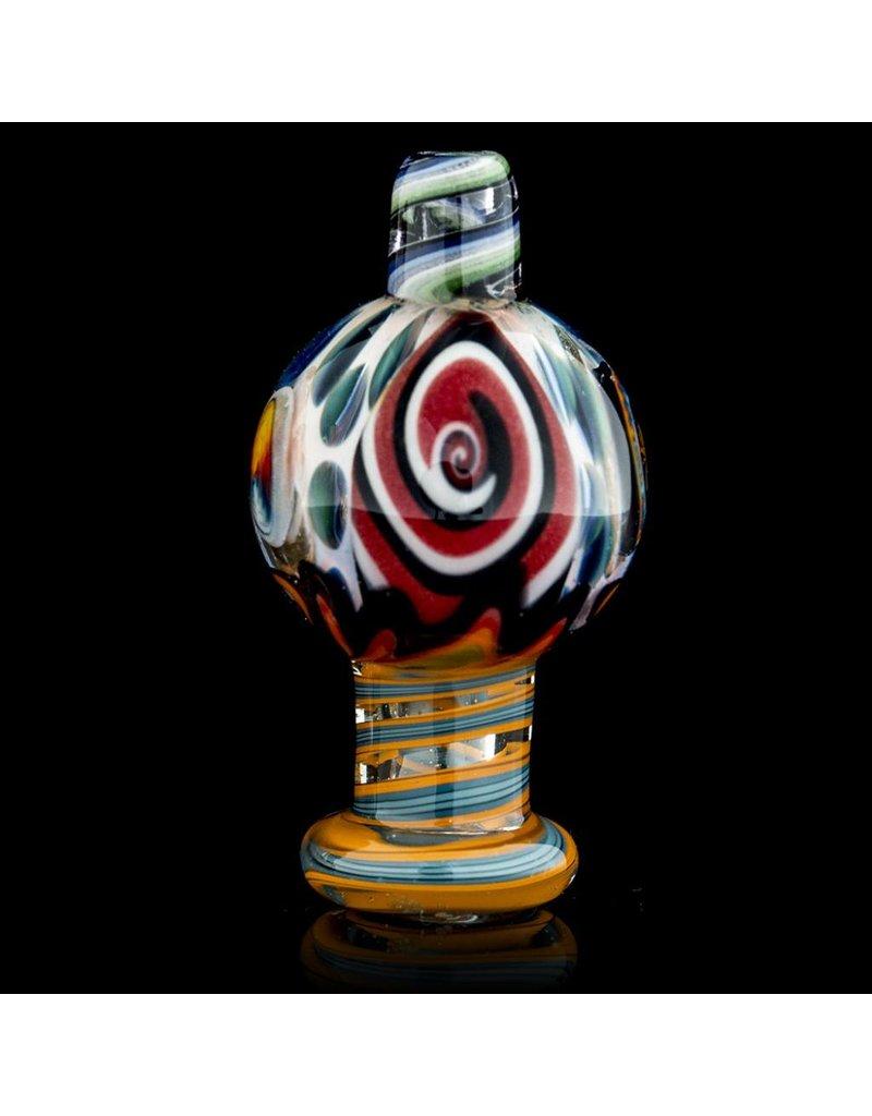 Dillinger Glass Bubble Carb Cap | Dillinger Choas UV #2