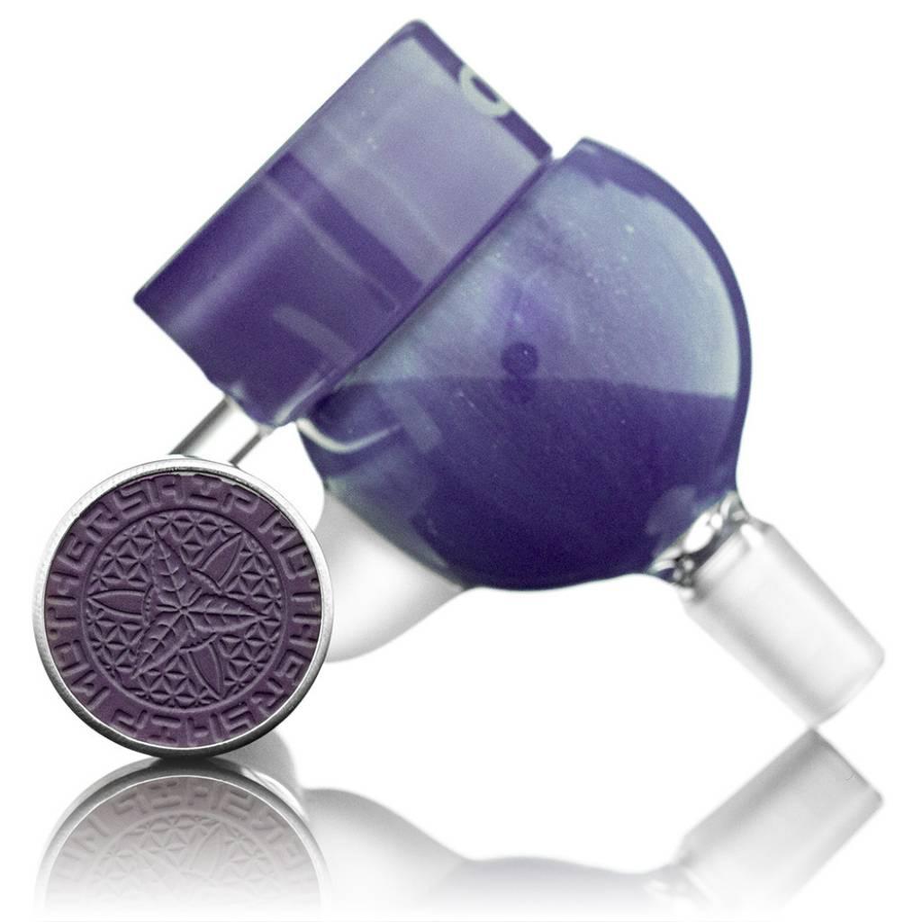 Mothership Mega HoneyPot Set w/ Quartz & OFZ Cap | 10mm Purple