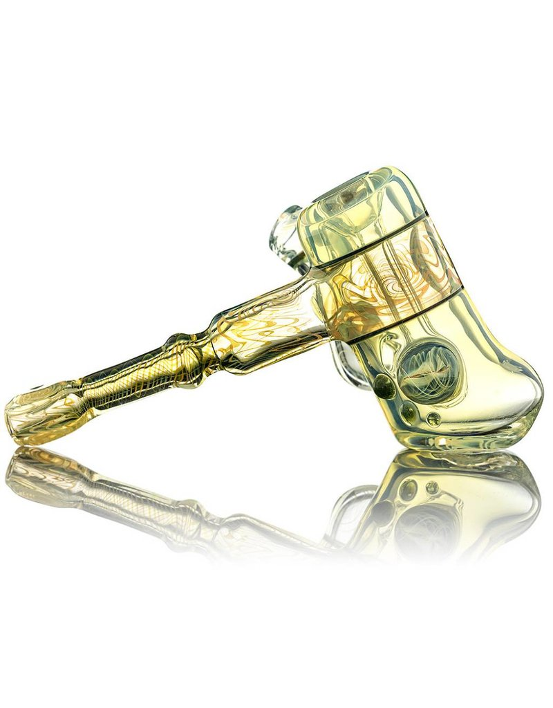 Entheo Glass Fumewag Hammer Bubbler by Entheo Glass