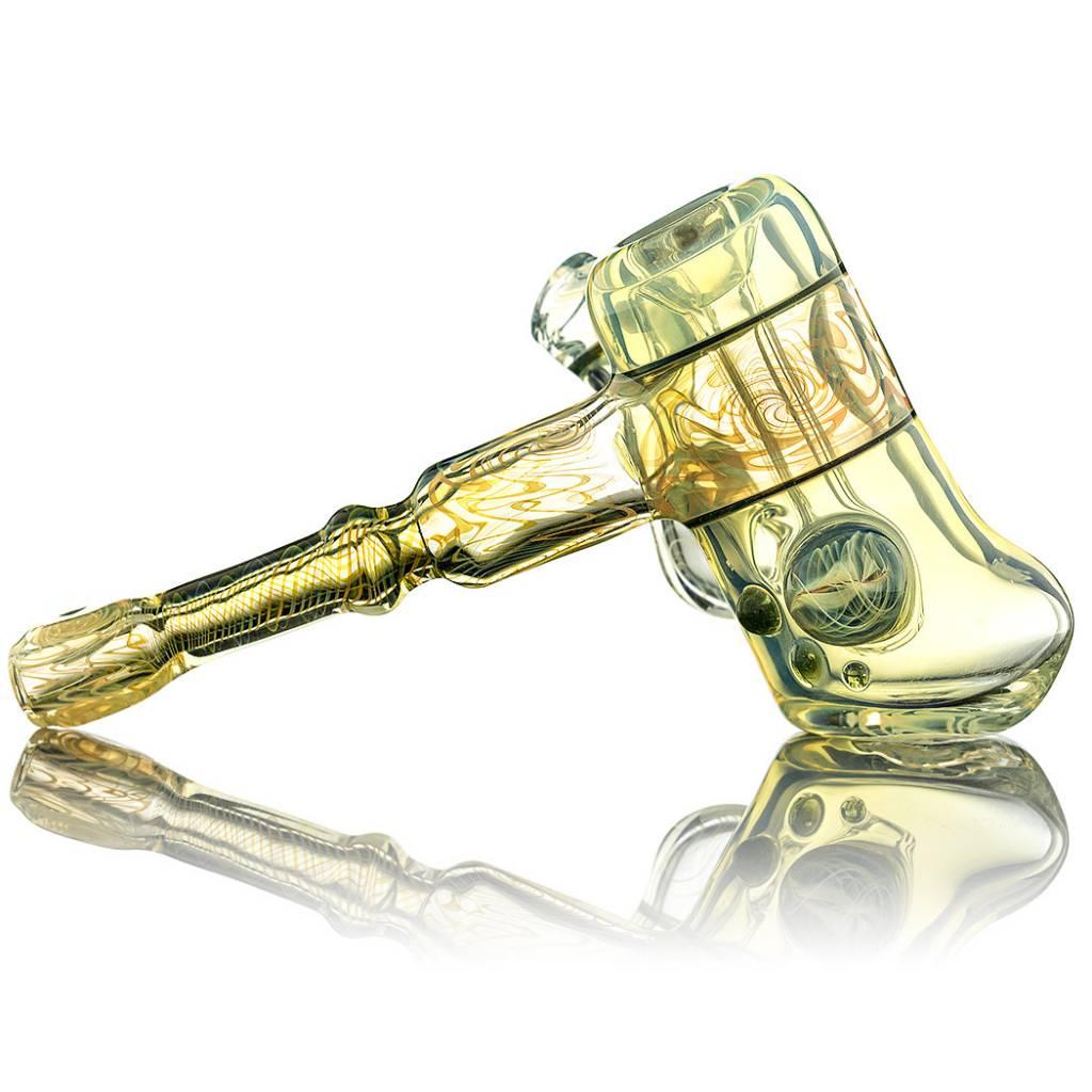 Entheo Glass SOLD Fumewag Hammer Bubbler by Entheo Glass