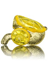Lyons Glass Lemon Glass Sherlock Dry Pipe