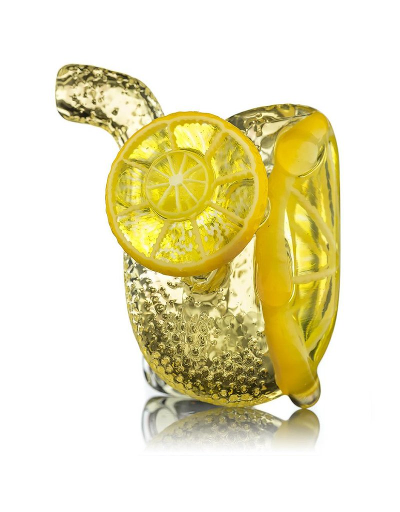 Lyons Glass Lemon Glass Sherlock Dry Pipe