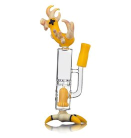 JOP x Pyrology SOLD JOP x Pyrology Yellow Chicken Dab Rig Collab
