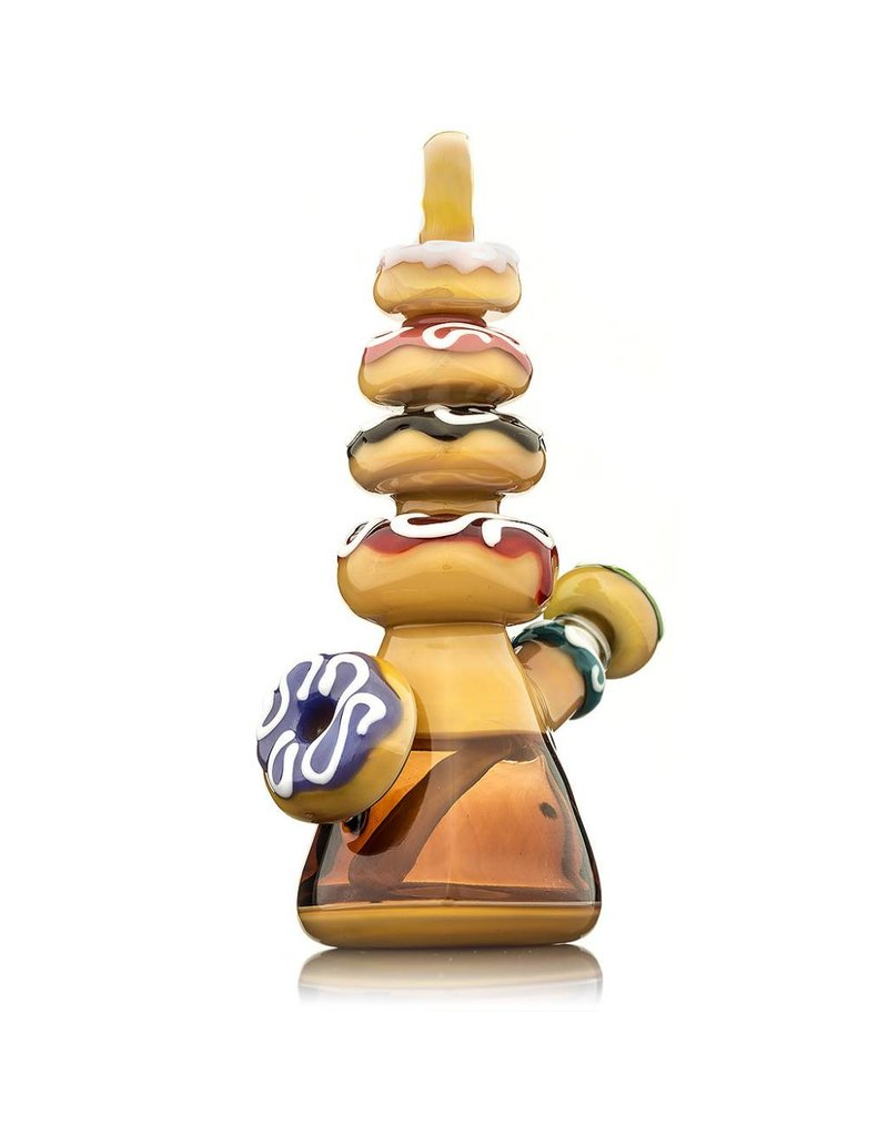 KGB Glass KGB Multi Donut #1 Maple Syrup Rig Set