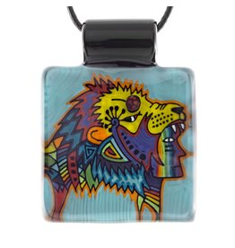 Kevin Murray SOLD Kevin Murray Lion Headdress Pendant