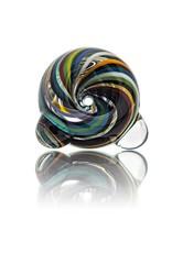 18mm (M) Bong Bowl Glass Bubble Slide (1) by Dave Strobel