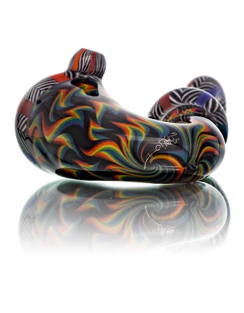 BirdDogg x 2-Stroke Glass BirdDogg x Banjo Sherlock #1 Glass Dry Pipe
