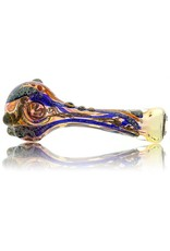 David James David James Large Fume Inside Out  Dichro Glass Spoon (A)