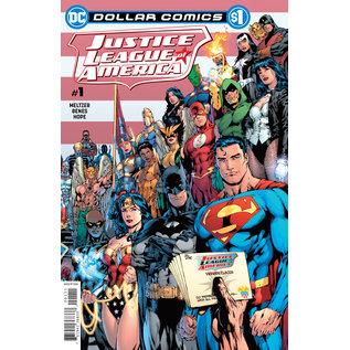 DC Comics Dollar Comics Justice League of America #1 2006