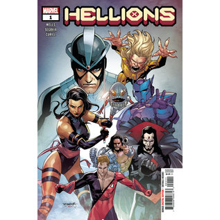 Marvel Comics Hellions #1 Dx
