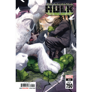 Marvel Comics Immortal Hulk #33