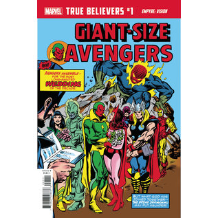 Marvel Comics True Believers Empyre Vision #1
