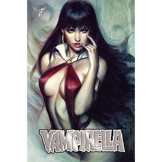 Dynamite Vampirella #6 Artgerm Ultra Ltd Platinum Foil Variant