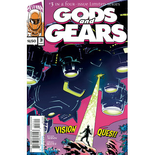 ALTERNA COMICS Gods And Gears #3 (Of 4)