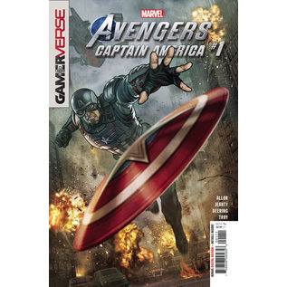 Marvel Comics Marvels Avengers Captain America #1
