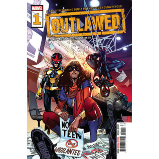Marvel Comics Outlawed #1