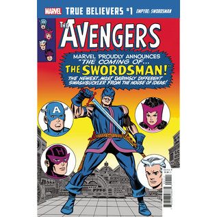 Marvel Comics True Believers Empyre Swordsman #1