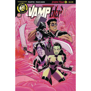 ACTION LAB - DANGER ZONE Vampblade Season 4 #8 Cover A Young