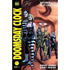 DC Comics Doomsday Clock HC Part 01