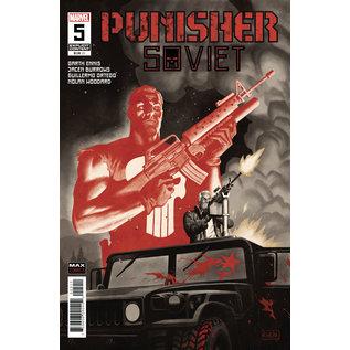 Marvel Comics Punisher Soviet #5 (Of 6)