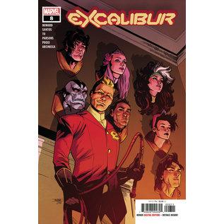 Marvel Comics Excalibur #08 (2020)