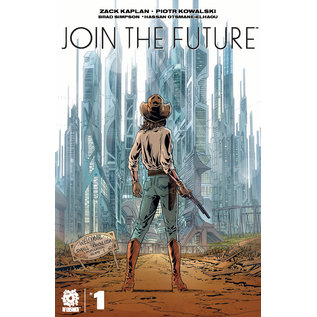 Aftershock Comics Join the Future #1 Cover A Kowalski
