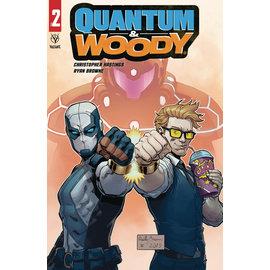 Quantum & Woody (2020) #2 (Of 4) Cover C Brown