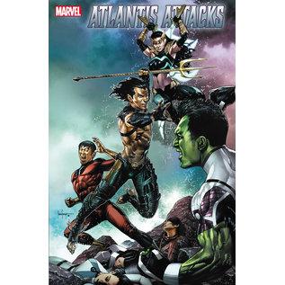 Marvel Comics Atlantis Attacks #2 (Of 5)