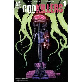 Aftershock Comics Godkillers #1 Cover A Haun