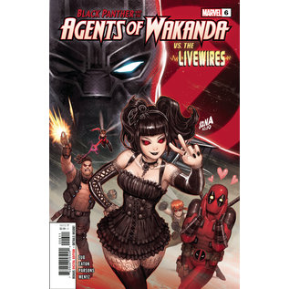 Marvel Comics Black Panther And Agents of Wakanda #6