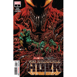Marvel Comics ABSOLUTE CARNAGE IMMORTAL HULK #1 AC