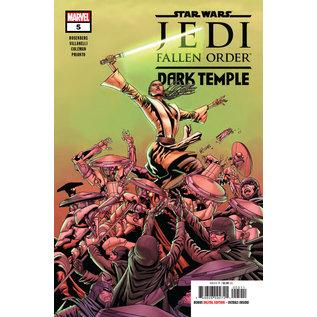 Marvel Comics STAR WARS JEDI FALLEN ORDER DARK TEMPLE #5 (OF 5)