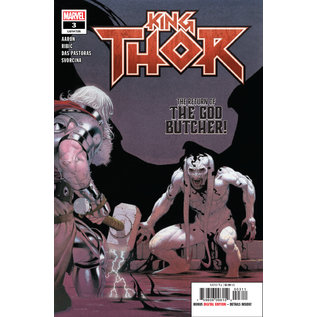 Marvel Comics KING THOR #3 (OF 4)
