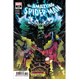 Marvel Comics AMAZING SPIDER-MAN #34 2099 TROUBLE