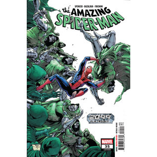 Marvel Comics AMAZING SPIDER-MAN #35 2099 TROUBLE