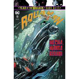 DC Comics AQUAMAN #51 YOTV DARK GIFTS