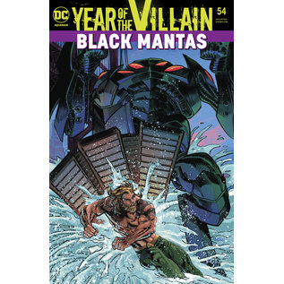 DC Comics AQUAMAN #54 YOTV ACETATE