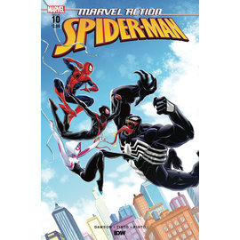 IDW PUBLISHING MARVEL ACTION SPIDER-MAN #10 CVR A TINTO (C: 1-0-0)