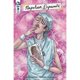 IDW PUBLISHING NAPOLEON DYNAMITE #3 (OF 4) CVR A RICHARD DX