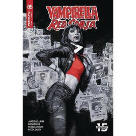 Dynamite VAMPIRELLA RED SONJA #5 CVR A TEDESCO