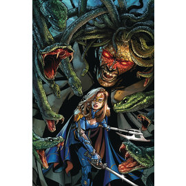 ZENESCOPE ENTERTAINMENT INC BELLE OATH OF THORNS #4 (OF 6) CVR A JOHNSON
