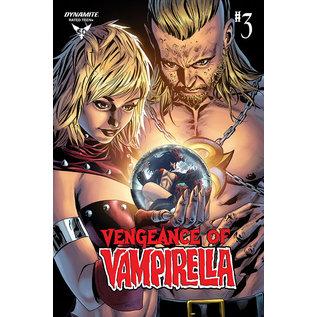 Dynamite VENGEANCE OF VAMPIRELLA #3 STA MARIA FOC BONUS VAR