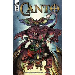 IDW PUBLISHING CANTO #5 (OF 6) CVR A ZUCKER