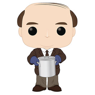 POP TV THE OFFICE KEVIN MALONE W/ CHILI VINYL FIG (JAN198384