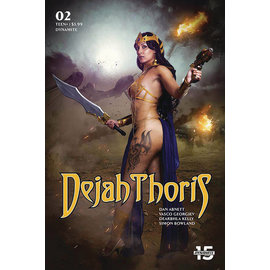 Dynamite DEJAH THORIS (2019) #2 CVR E COSPLAY
