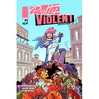 Image Comics PRETTY VIOLENT #1 CVR A HUNTER (MR)