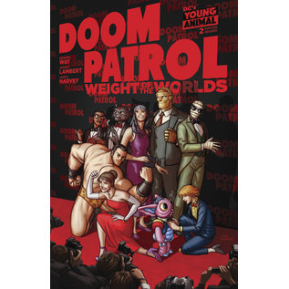 DC Comics DOOM PATROL WEIGHT OF THE WORLDS #2 (MR)