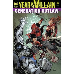 DC Comics RED HOOD OUTLAW #40 YOTV ACETATE